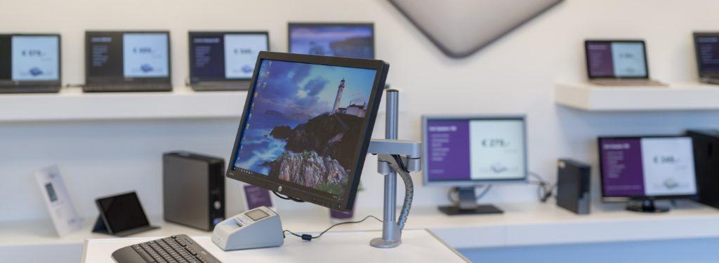 Wij verkopen ook 2ehands laptops en computers, uiteraard met dezelfde service!